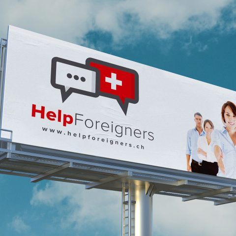 Help Foreigners | Branding