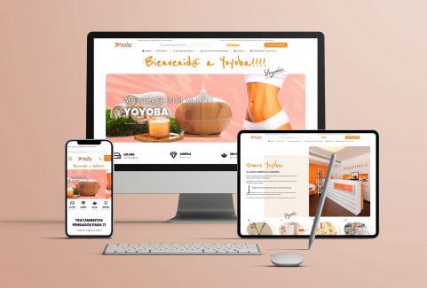 Web | Yoyoba Centro estético